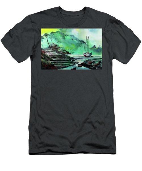Anchored Men's T-Shirt (Athletic Fit)