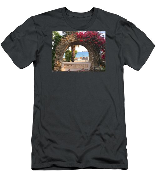 Ancient Arch Gaeta Italy Men's T-Shirt (Athletic Fit)