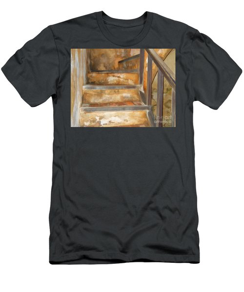 Ancient Stairway Men's T-Shirt (Athletic Fit)
