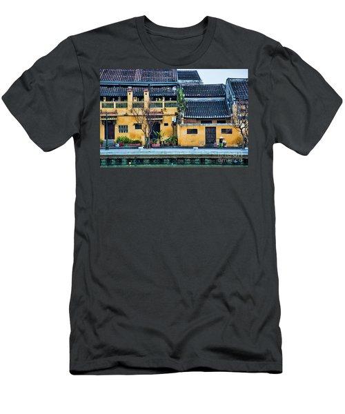 Ancient Town Hoi An Men's T-Shirt (Slim Fit) by Chuck Kuhn