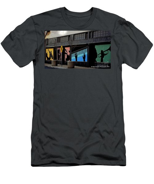 And All That Jazz Men's T-Shirt (Athletic Fit)
