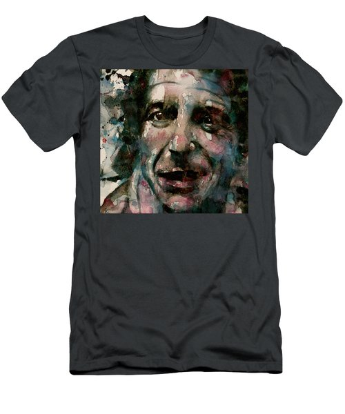 Men's T-Shirt (Slim Fit) featuring the painting And She Feeds You Tea And Oranges That Come All The Way From China  by Paul Lovering
