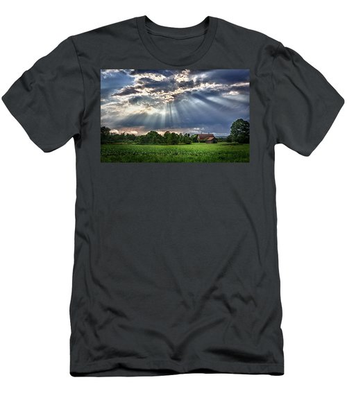 And The Heavens Opened 1 Men's T-Shirt (Athletic Fit)