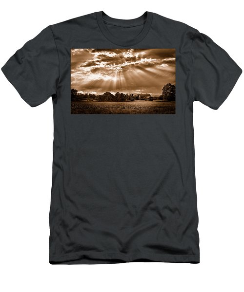 And The Heavens Opened 3 Men's T-Shirt (Athletic Fit)