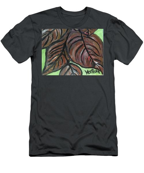 Andrea's Leaves - Fragments Of A  Dream Men's T-Shirt (Athletic Fit)