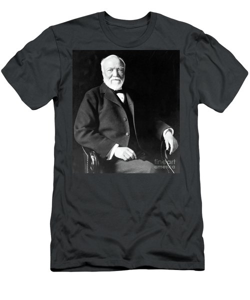 Andrew Carnegie Men's T-Shirt (Athletic Fit)