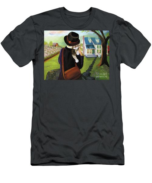 Andy's Home Men's T-Shirt (Athletic Fit)