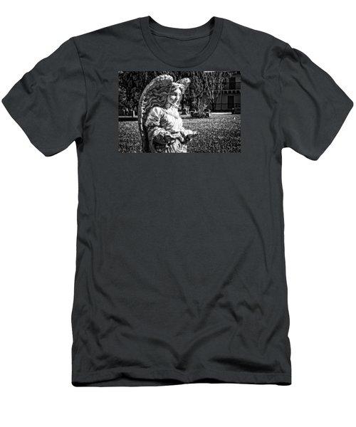 Angel 006 Men's T-Shirt (Slim Fit) by Michael White