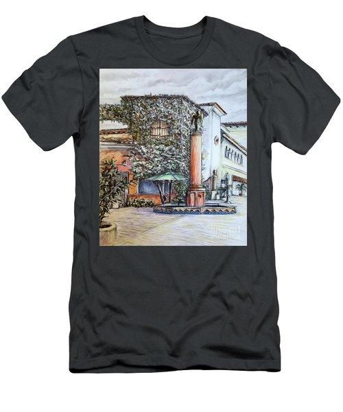 Angel At Santa Barbara Men's T-Shirt (Athletic Fit)
