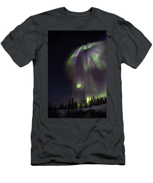 Angel In The Night Men's T-Shirt (Athletic Fit)