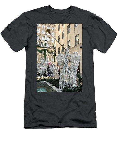 Angel New York City Men's T-Shirt (Athletic Fit)