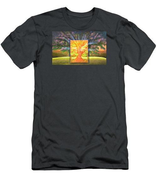 Angel Of The Trees Men's T-Shirt (Athletic Fit)