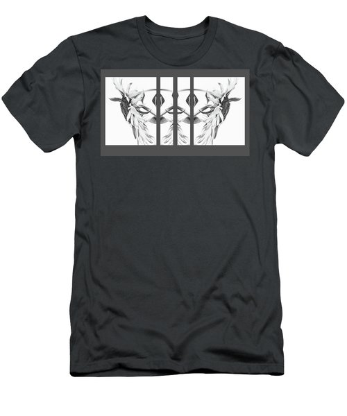 Angel Wings - Men's T-Shirt (Athletic Fit)