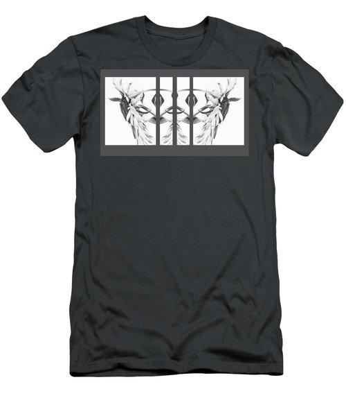 Angel Wings - Men's T-Shirt (Athletic Fit)