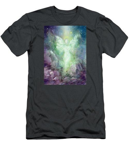 Angels Journey Men's T-Shirt (Slim Fit) by Marina Petro