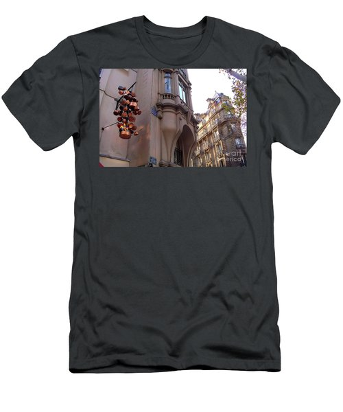 Angles And Details At Place Saint Andre Des Arts Men's T-Shirt (Athletic Fit)