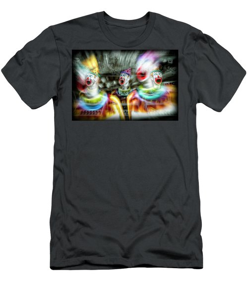 Men's T-Shirt (Slim Fit) featuring the photograph Angry Clowns by Wayne Sherriff