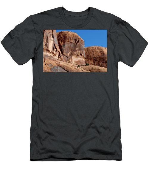 Angry Rock - 2  Men's T-Shirt (Athletic Fit)