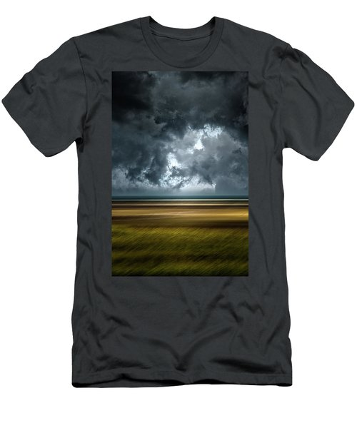 Angry Sky Men's T-Shirt (Athletic Fit)