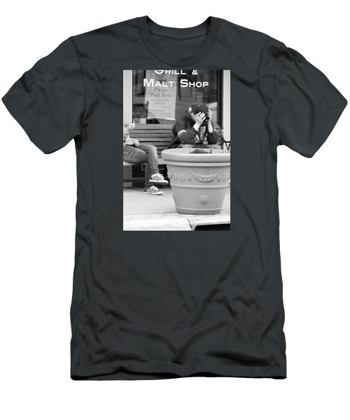 Angst Men's T-Shirt (Athletic Fit)