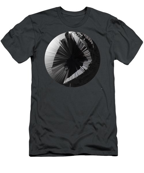 Angst IIi Painting As A Spherical Depth Map. 2 Men's T-Shirt (Slim Fit) by Paul Davenport