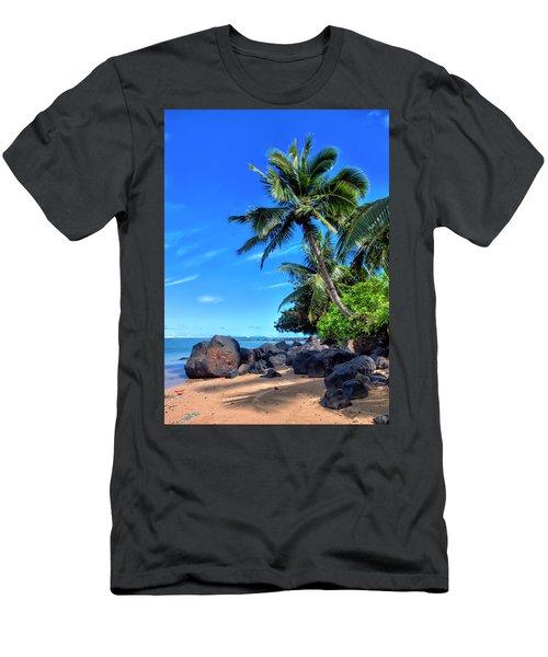Anini Beach Men's T-Shirt (Athletic Fit)