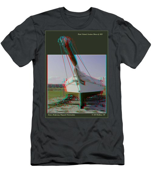 Anna Mcgarvey - Use Red-cyan 3d Glasses Men's T-Shirt (Athletic Fit)