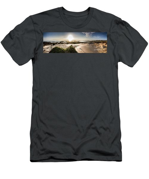 Another Beach Sunset Men's T-Shirt (Athletic Fit)