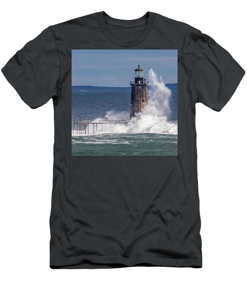 Another Day - Another Wave Men's T-Shirt (Athletic Fit)