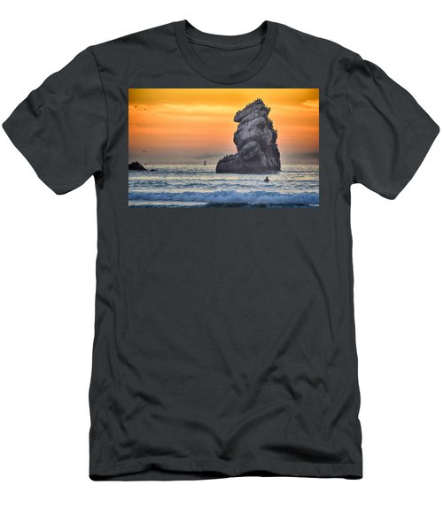 Another World Men's T-Shirt (Slim Fit) by AJ Schibig