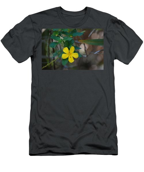 Men's T-Shirt (Slim Fit) featuring the photograph Ant Flowers by Rob Hans