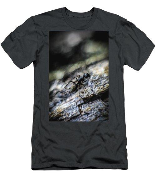 Dynamic Men's T-Shirt (Slim Fit) by Hyuntae Kim