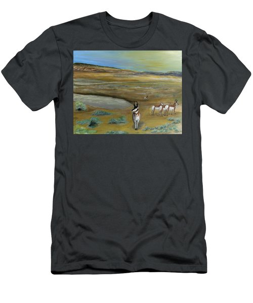 Antelopes Men's T-Shirt (Athletic Fit)