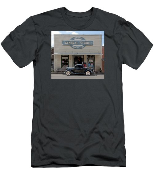 Antique Car At Gruene General Store Men's T-Shirt (Athletic Fit)