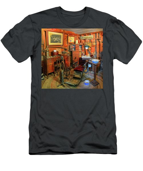 Antique Dental Office Men's T-Shirt (Athletic Fit)