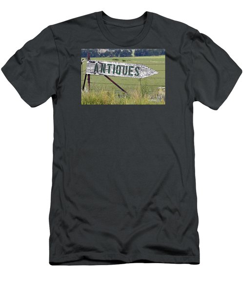 Men's T-Shirt (Slim Fit) featuring the photograph Antiques  by Juls Adams
