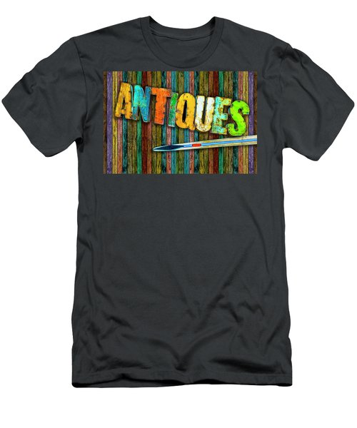 Men's T-Shirt (Slim Fit) featuring the photograph Antiques by Paul Wear