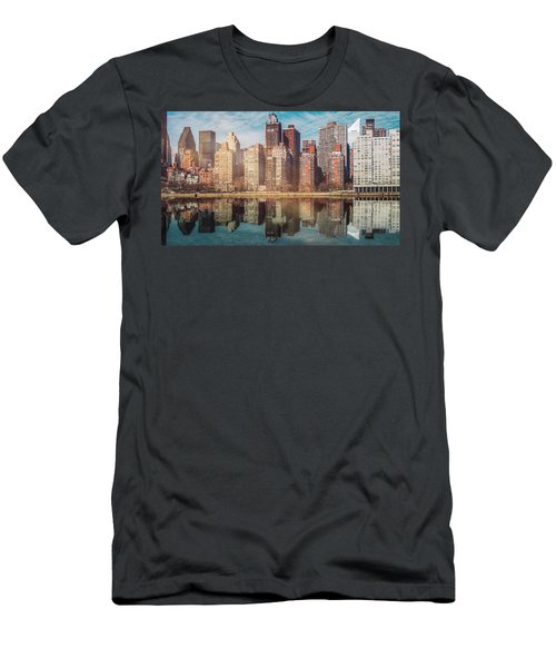 Apartment Blocks  Men's T-Shirt (Athletic Fit)