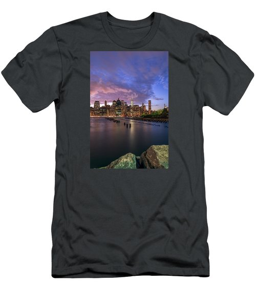 Men's T-Shirt (Slim Fit) featuring the photograph Apocalypse by Anthony Fields
