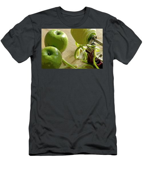 Apples Getting Peeled Men's T-Shirt (Athletic Fit)