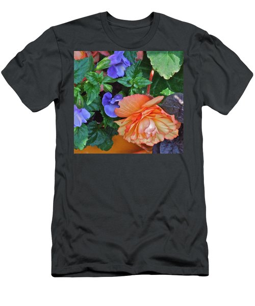 Apricot Begonia 1 Men's T-Shirt (Athletic Fit)