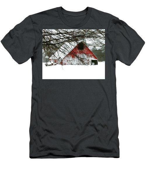 April Blizzard Men's T-Shirt (Athletic Fit)