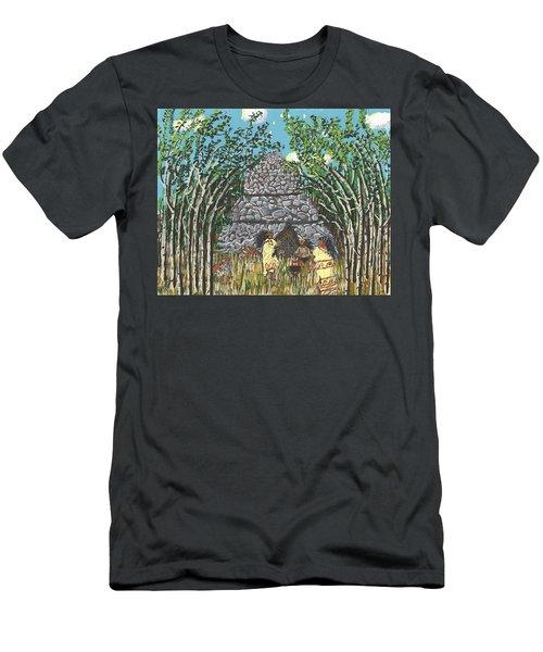 April  The Shaman Calls The Jaguars Men's T-Shirt (Athletic Fit)
