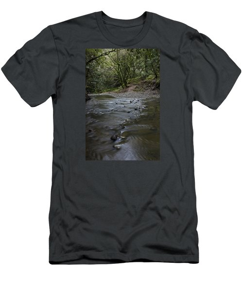 Aptos Creek -- Nisene Marks State Park Men's T-Shirt (Athletic Fit)