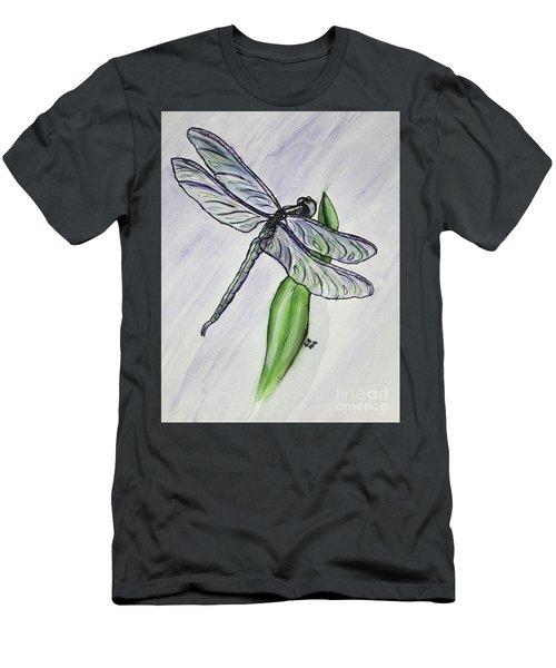 Aquamarine Men's T-Shirt (Athletic Fit)