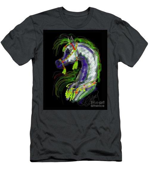 Arabian With Green Tassles Men's T-Shirt (Athletic Fit)