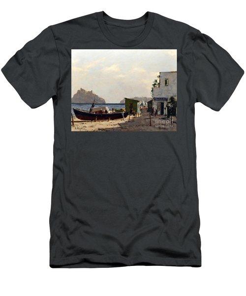 Aragonese's Castle - Island Of Ischia Men's T-Shirt (Athletic Fit)