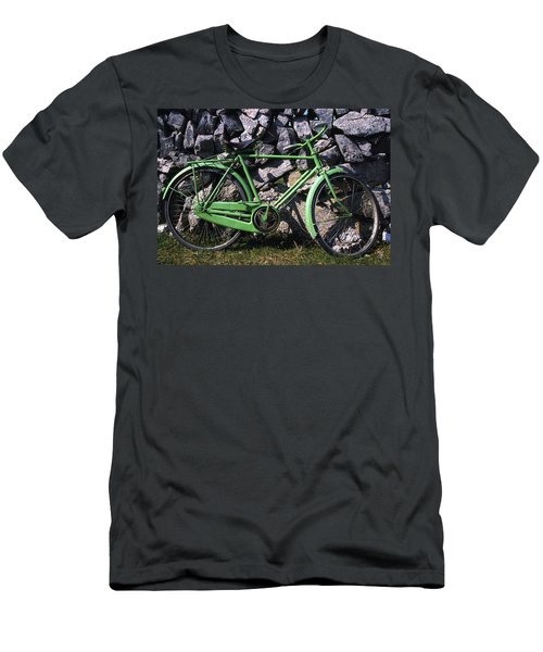 Aran Islands, Co Galway, Ireland Bicycle Men's T-Shirt (Athletic Fit)
