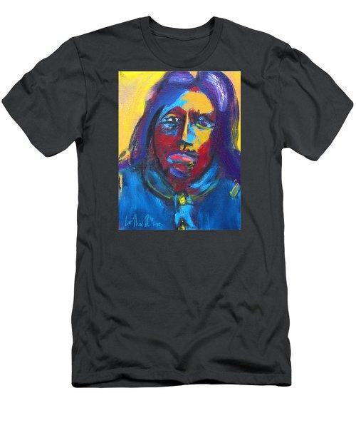 Arapaho Scout Sharp Nose Men's T-Shirt (Athletic Fit)