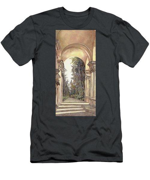 Arcate Prospettiche Men's T-Shirt (Athletic Fit)
